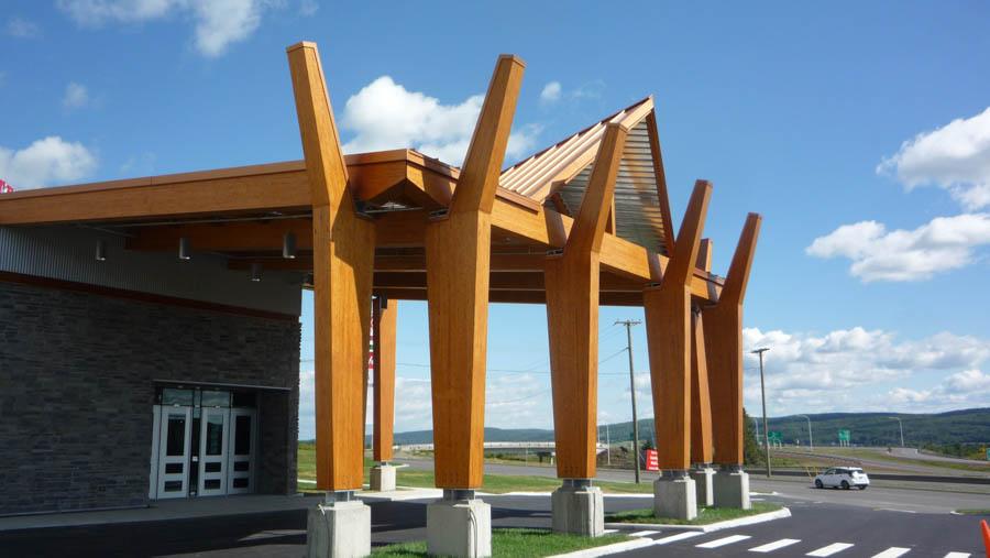 Structures de bois - Commercial