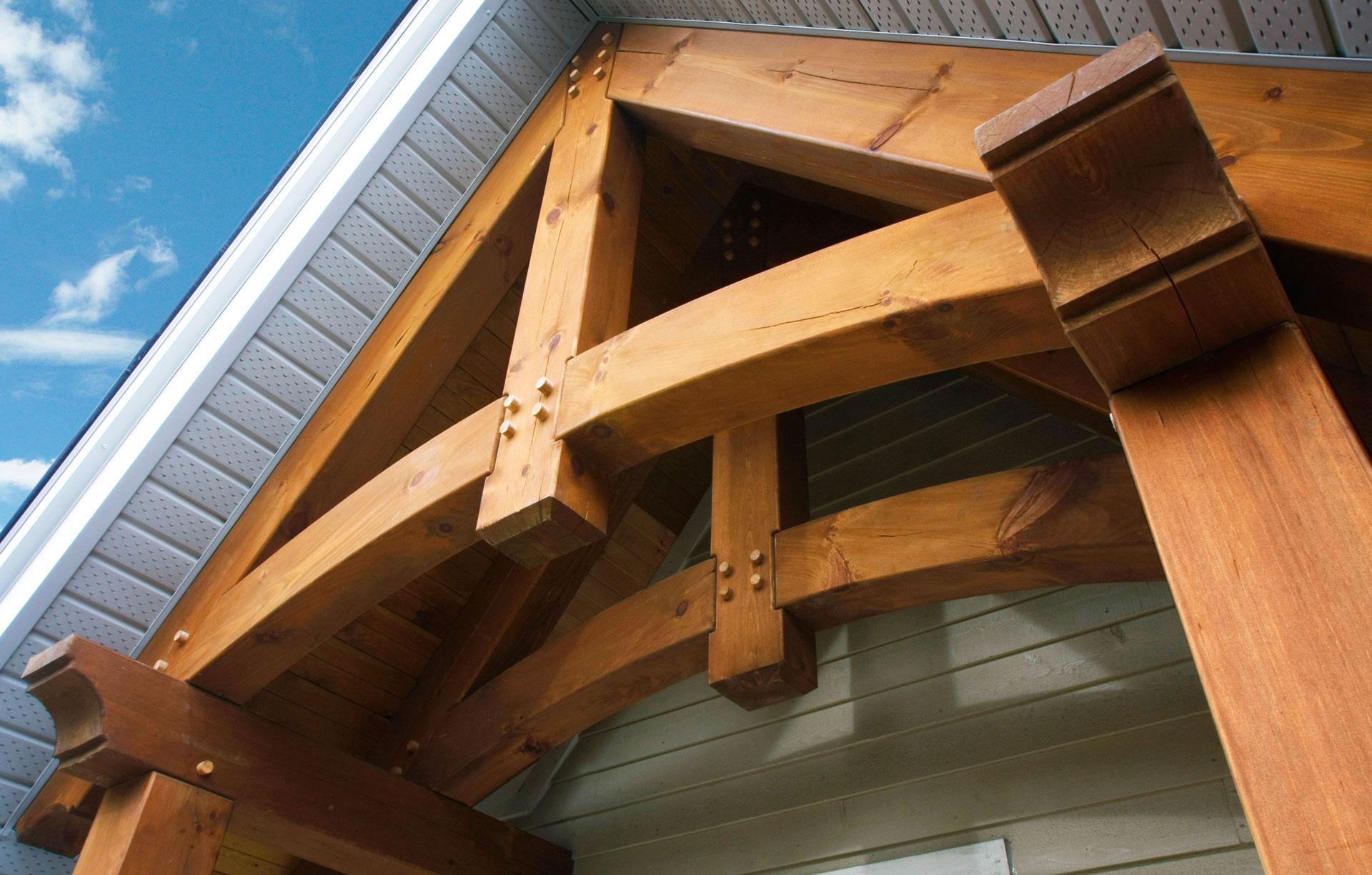 Structures de bois - Timberframe